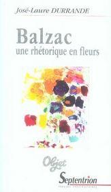 Balzac, une rhétorique en fleurs - Intérieur - Format classique