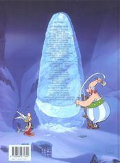 Astérix et les vikings - 4ème de couverture - Format classique