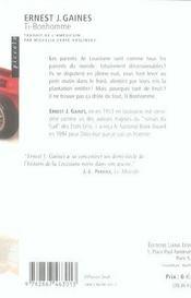 Ti Bonhomme - 4ème de couverture - Format classique