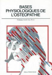 Bases physiologiques de l'ostéopathie - Couverture - Format classique