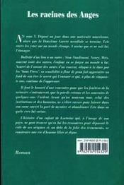 Les Racines Des Anges - 4ème de couverture - Format classique