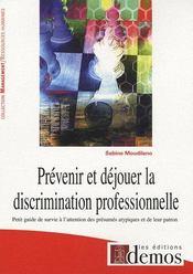 Prévenir et déjouer la discrimination professionnelle - Intérieur - Format classique