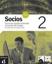 Socios 2 Cahier D'Exercices + Cd Nouvelle Edition - Couverture - Format classique