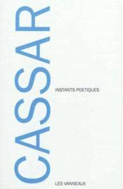 Instants poetiques - Couverture - Format classique