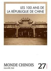 Monde chinois n27  - Collectif