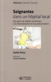Soignantes Dans Un Hopital Local - Couverture - Format classique
