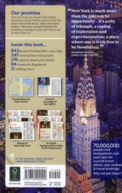 New York city (8e édition) - 4ème de couverture - Format classique