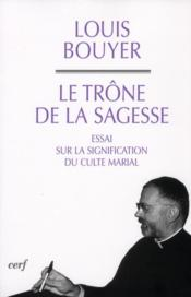 Trone De La Sagesse - Couverture - Format classique