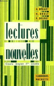 LECTURES NOUVELLES - COURS MOYEN 1ère ANNEE - Couverture - Format classique