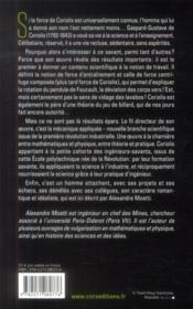 Le mystère Coriolis - 4ème de couverture - Format classique