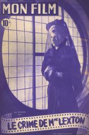MON FILM N° 89 - LE CRIME DE Mme LEXTON - Couverture - Format classique
