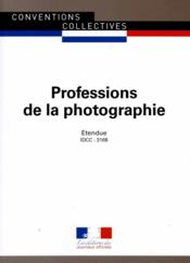 Professions de la photographie  - Journaux Officiels