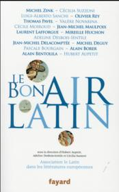 Vente livre :  Le bon air latin  - Collectif