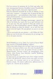 Veste De Fer (La) - 4ème de couverture - Format classique