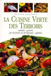 Cuisine Verte Des Terroirs - Couverture - Format classique