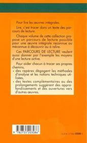 La peau de chagrin, d'Honoré de Balzac - 4ème de couverture - Format classique