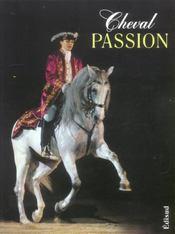 Cheval passion - Intérieur - Format classique