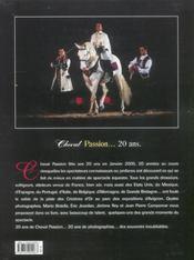 Cheval passion - 4ème de couverture - Format classique