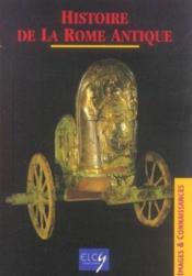 Histoire De La Rome Antique - Couverture - Format classique