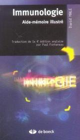 Immunologie ; aide-memoire illustré - Intérieur - Format classique