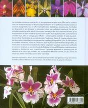 Les orchidées miniatures - 4ème de couverture - Format classique