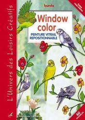 Windows colors ; peinture vitrail repositionnable - Intérieur - Format classique