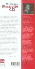 Dictionnaire illustrator cs2 - 4ème de couverture - Format classique