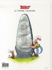 Astérix t.31 ; astérix et la traviata - 4ème de couverture - Format classique