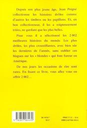 La Grande Encyclopedie Des Histoires Droles Les 2002 Meilleures - 4ème de couverture - Format classique