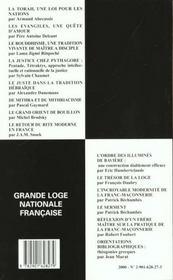 Revue n.43 - 4ème de couverture - Format classique