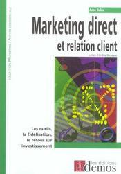 Marketing Direct Et Relation Client - Intérieur - Format classique