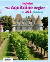 Vente livre :  Revue Le Festin N.Hs ; Around The Aquitaine Region In 101 Buildings  - Revue Le Festin