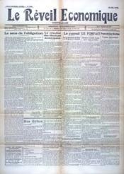 Reveil Economique (Le) N°945 du 15/05/1935 - Couverture - Format classique