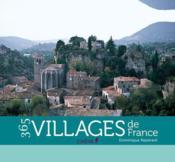 Calendrier 365 villages de France - Couverture - Format classique