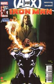 Vente livre :  Iron Man N.2012/8 ; Avengers Vs X-Men ; inertie  - Hickman/Fraction - Iron Man