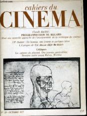 Cahiers Du Cinema N° 281 - Claude Baille: Programmation Du Regard - J. P. Oudart: Un Homme, Une Femme Et Quelques Betes ... - Couverture - Format classique
