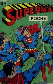 Superman Poche N°24 - Couverture - Format classique