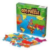 Geopuzzle monde 68 pieces  - Collectif