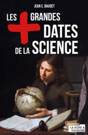 Vente  Les plus grandes dates de la science  - Jean C. Baudet