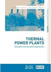 Vente livre :  Thermal power plants  - Johnson - Martin - Waute