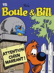 Vente  Boule & Bill T.15 ; attention chien marrant !  -  Roba - Roba - Jean Roba