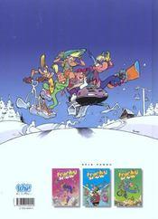 Franky Snow t.4 ; snow revolution - 4ème de couverture - Format classique
