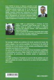 Guide De Medecine Preventive Quinze Questions A L'Usage Du Generaliste - 4ème de couverture - Format classique