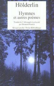 Hymnes et autres poèmes - Intérieur - Format classique