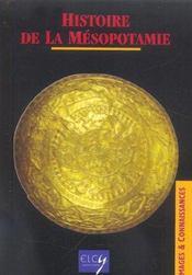 Histoire de la mesopotamie - Intérieur - Format classique