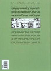 La mémoire des arbres t.7 ; la lettre froissée t.1 - 4ème de couverture - Format classique