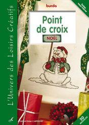 Point de croix ; Noël - Intérieur - Format classique
