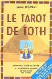 Le Tarot de Toth ( livre seul ) - Intérieur - Format classique