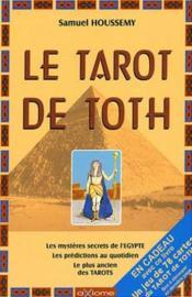 Le Tarot de Toth ( livre seul ) - Couverture - Format classique