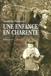 Une Enfance En Charente - Couverture - Format classique
